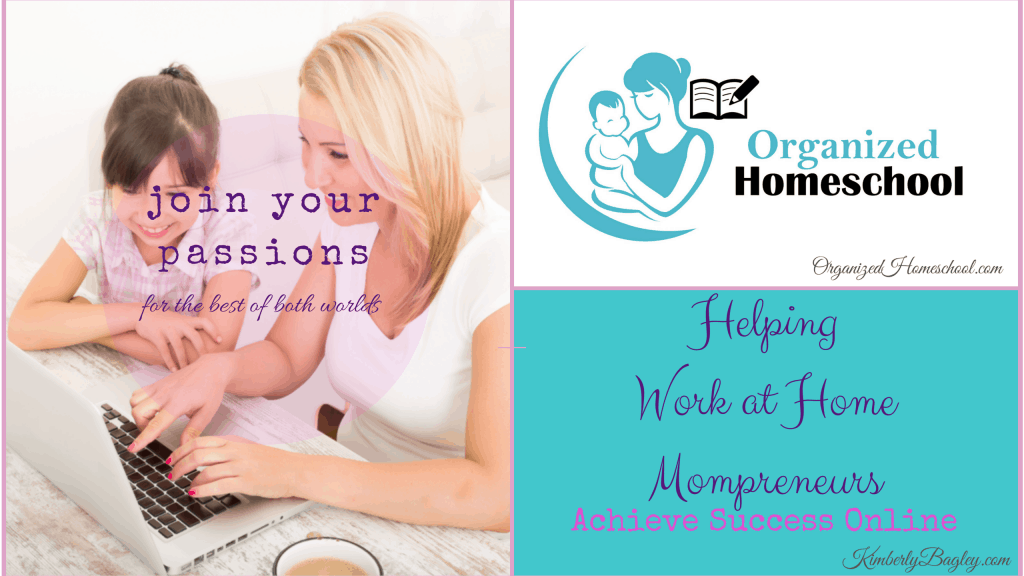 Work at home homeschooling mom