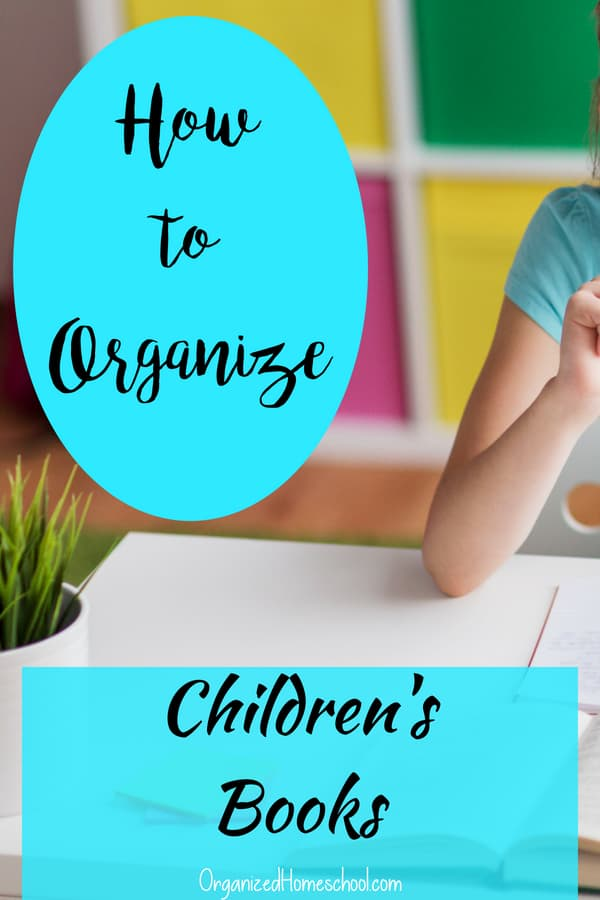 how to organizing childrens books