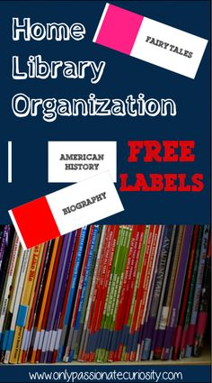 Free labels for book organization