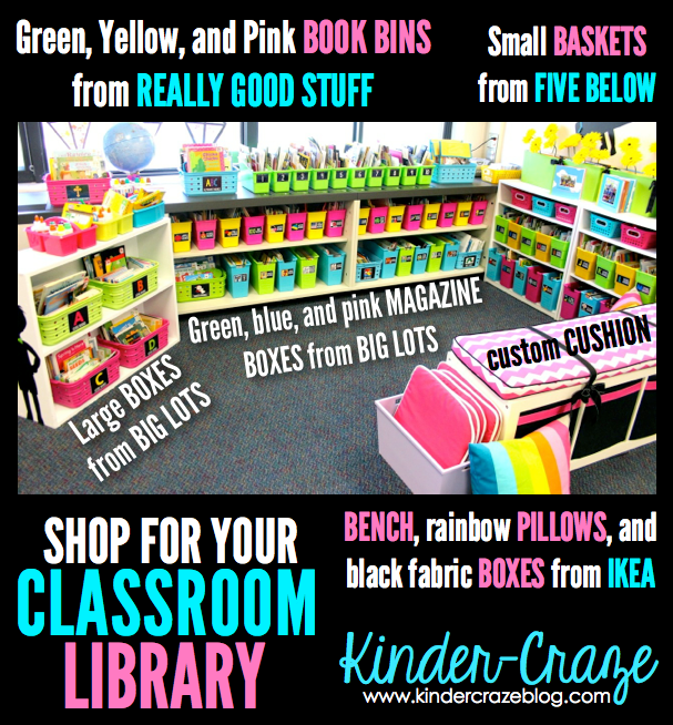 shop for classroom book organization