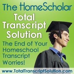 Total Transcript Solution Review – Lee Binz The Home Scholar on Home Schooling High School