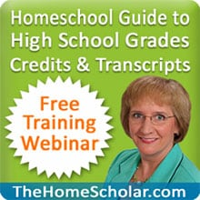 Homeschool High School Free Webinar