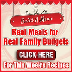 Build a Menu meal planning