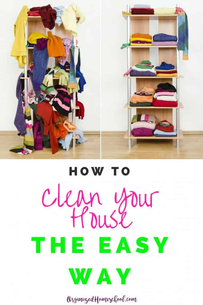 These 5 easy steps to create your house cleaning chore list will get your house cleaned quickly and kept that way for good.