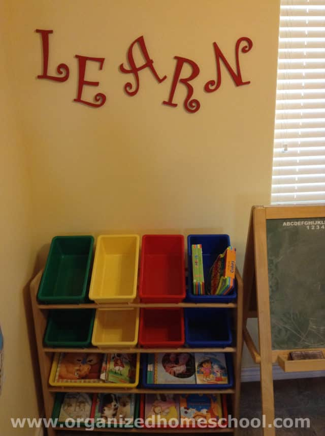 homeschool classroom words learn