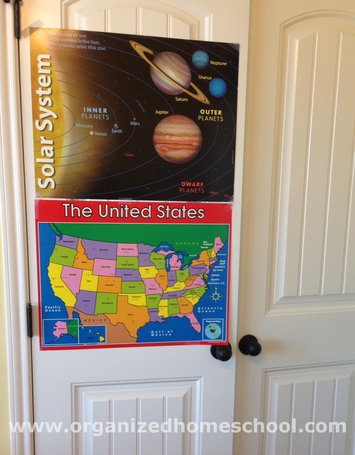 Homeschool Classroom Posters