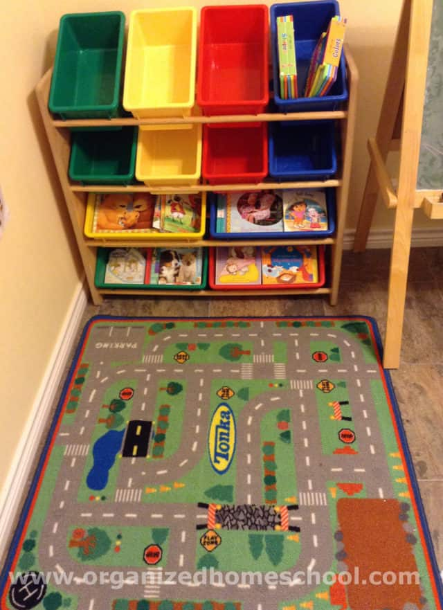 Homeschooling Room Ideas Rug