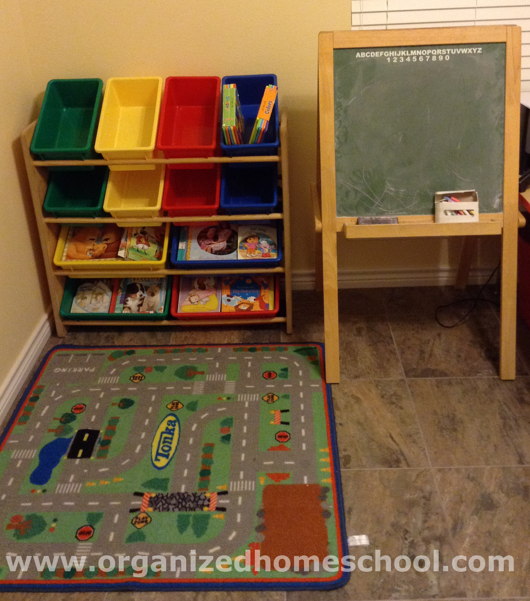 Homeschooling Room Ideas Chalkboard