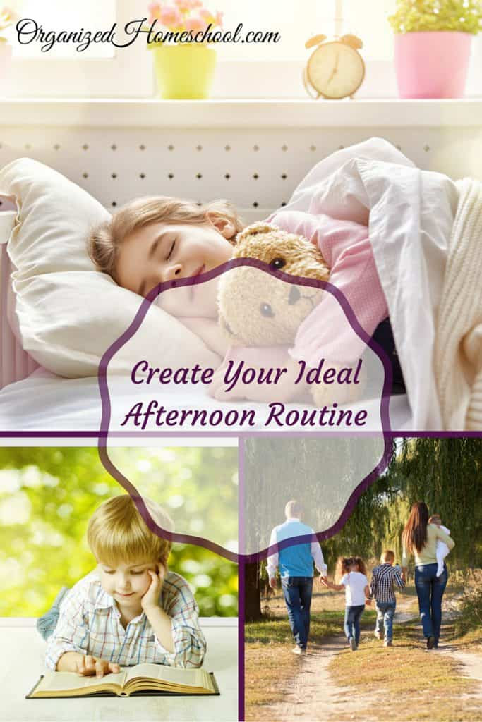 Create Your Ideal Afternoon Routine