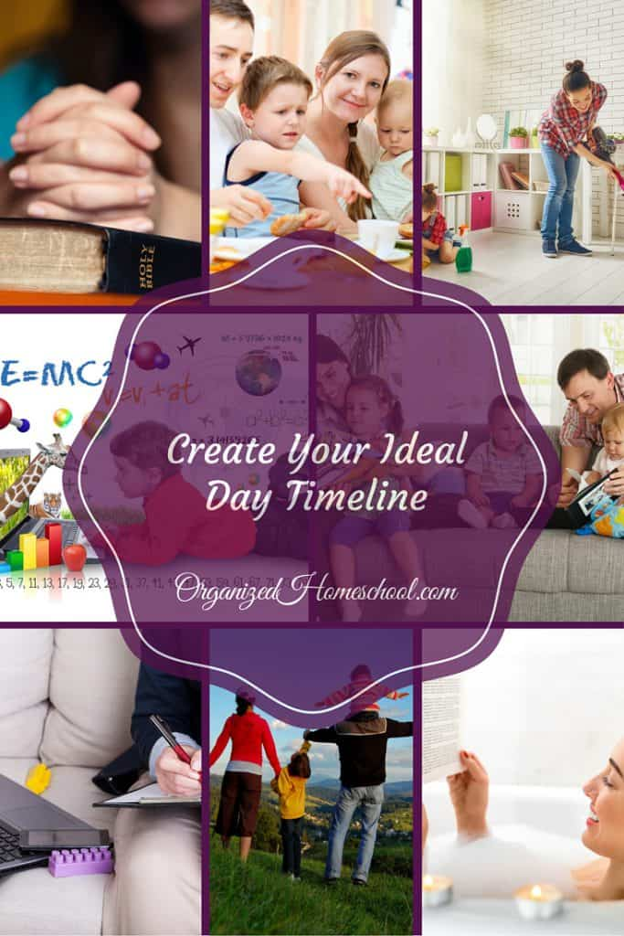 Create Your Ideal Day Timline