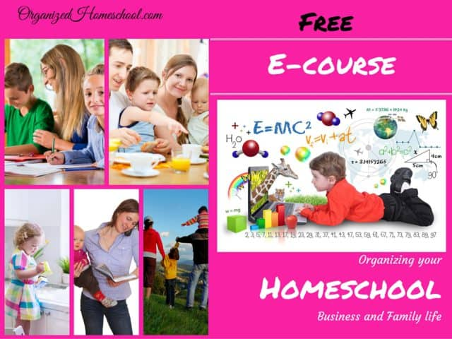 Organized Homeschool Free ECourse
