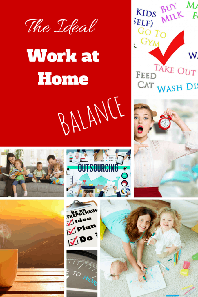 The Ideal Work At Home Balance Creating An Organized