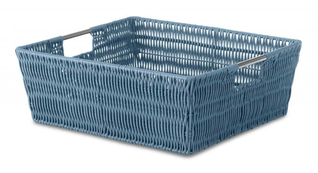 Basket for paper storage