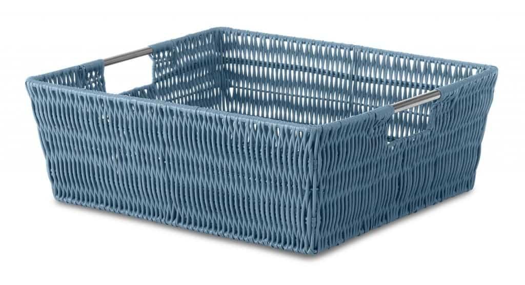 Basket for paper storage
