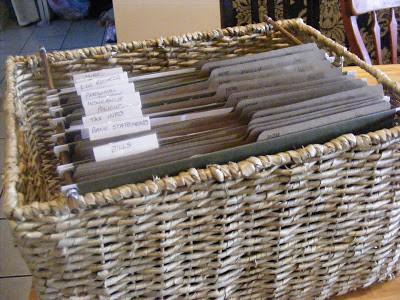 DIY File Basket