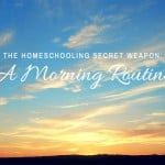 Homeschooling Secret Weapon