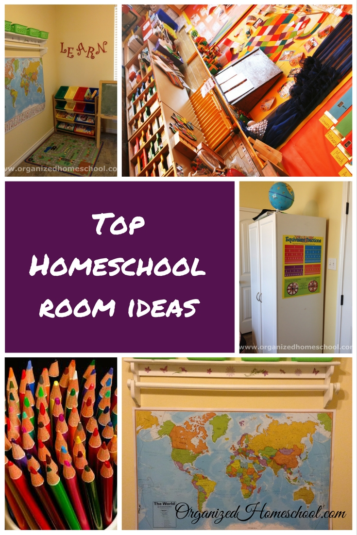 Top Homeschool Room Ideas Organized Homeschool Life