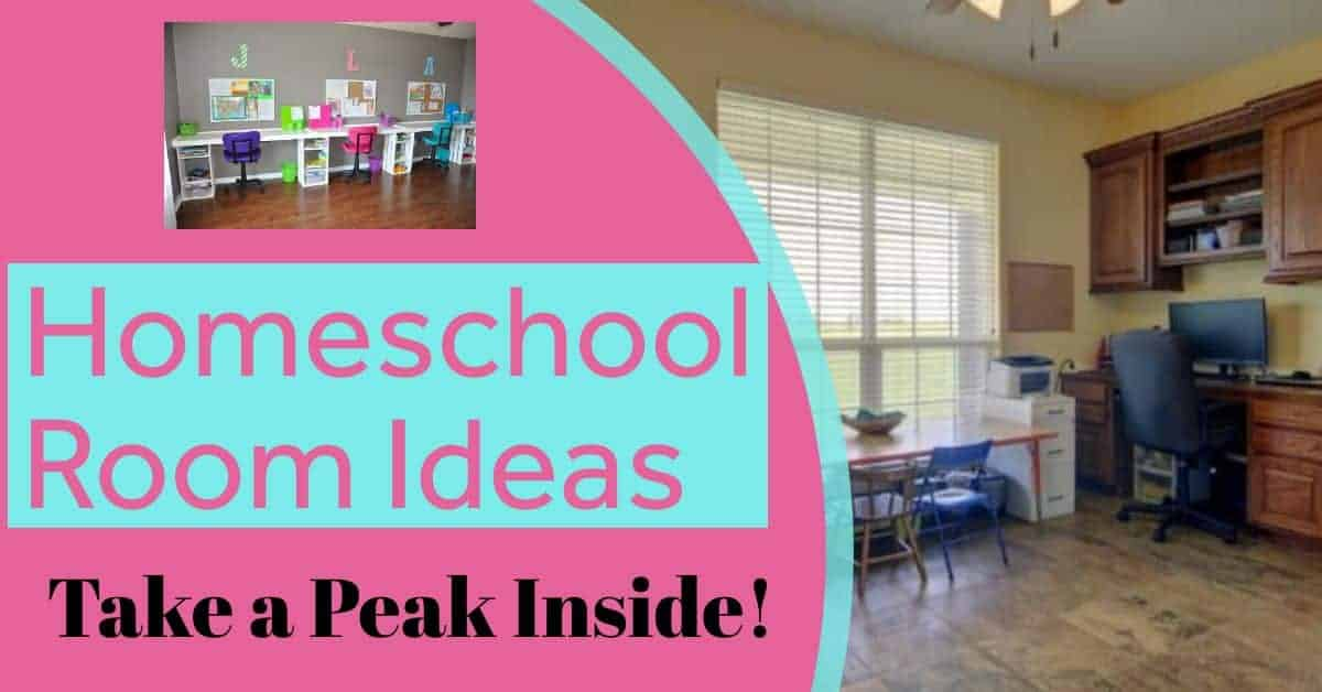 homeschool room ideas organization