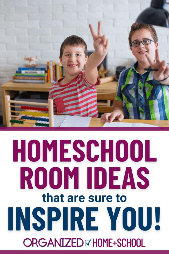 homeschool room ideas and organization