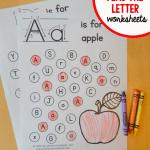 letter alphabet coloring activity