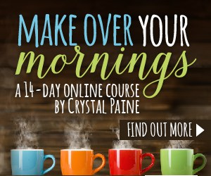 Make Over Your Mornings Challenge – Days 1 & 2