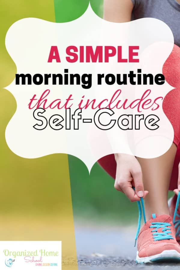 Live with intention by practicing a productive simple morning routine that includes self care. See how I do it in this post.