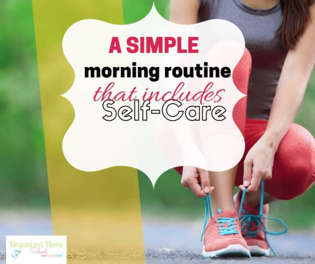 Are you tired of feeling worn down and wore out each day? A simple morning routine to help you practice self care and be more productive might just be the perfect answer for you.