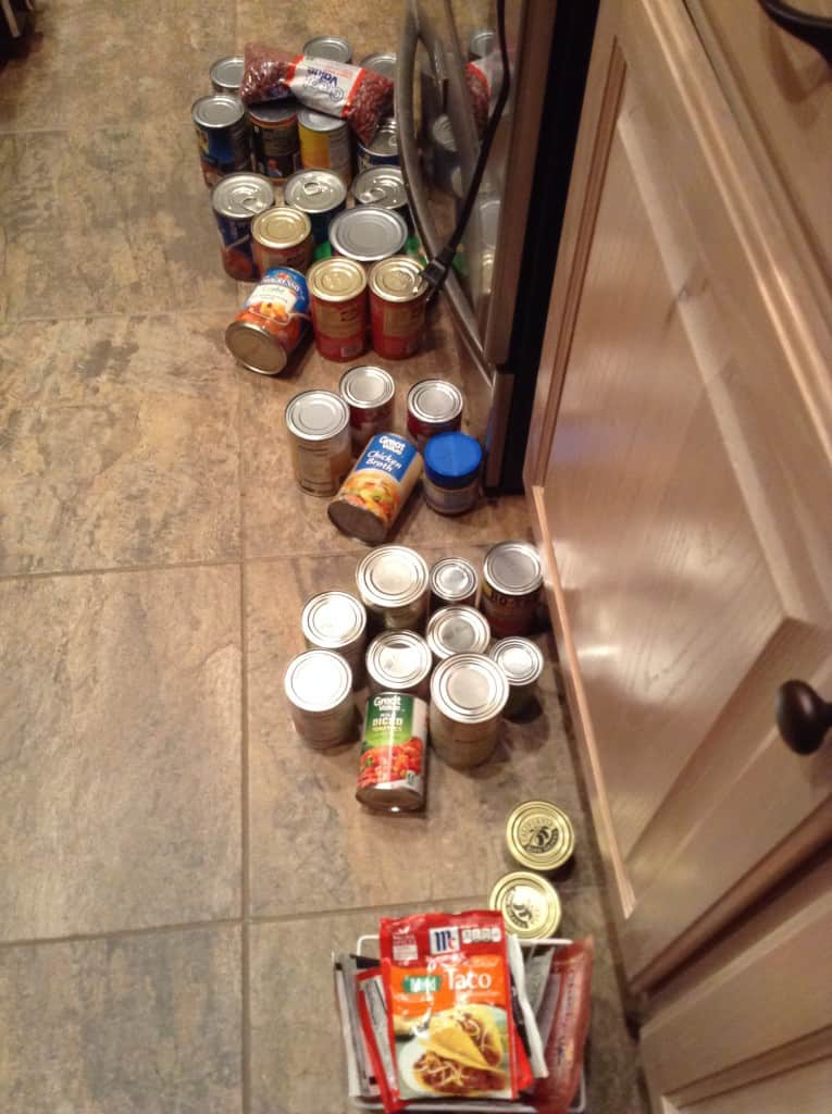 organize your pantry can goods