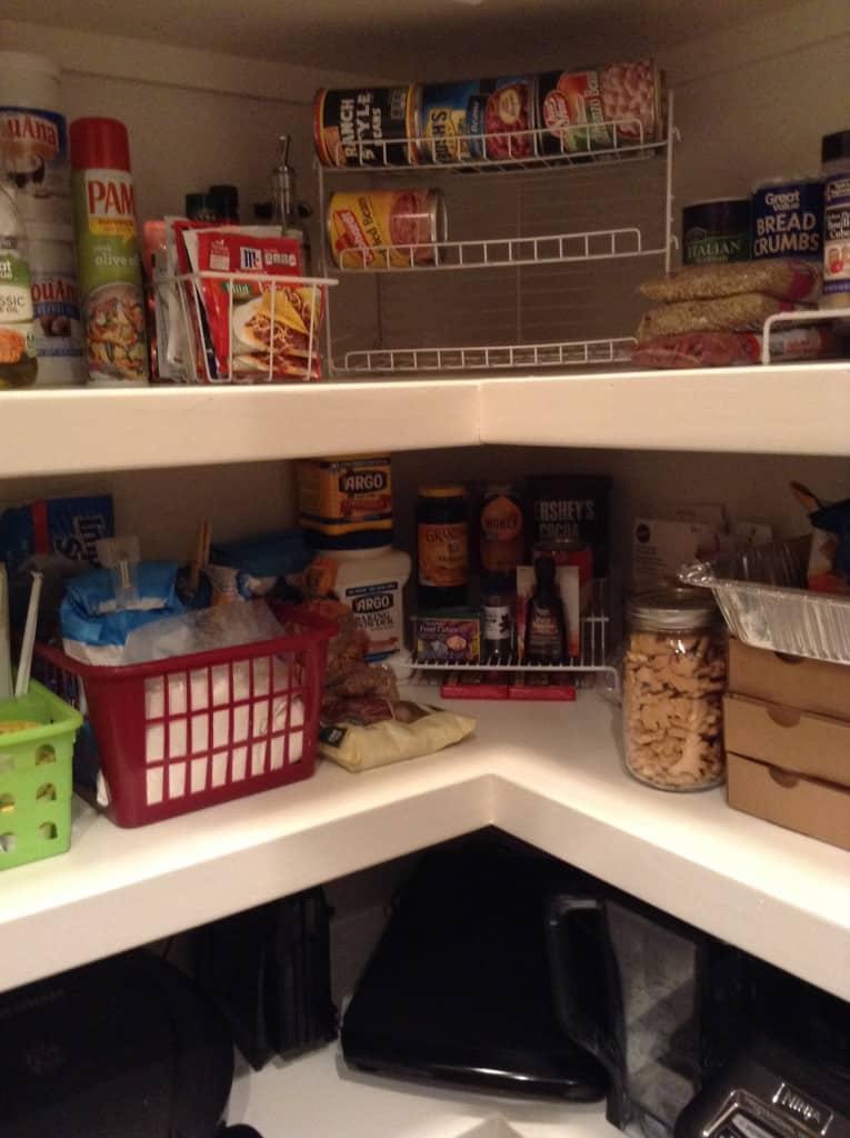 organized pantry cooking ingredients