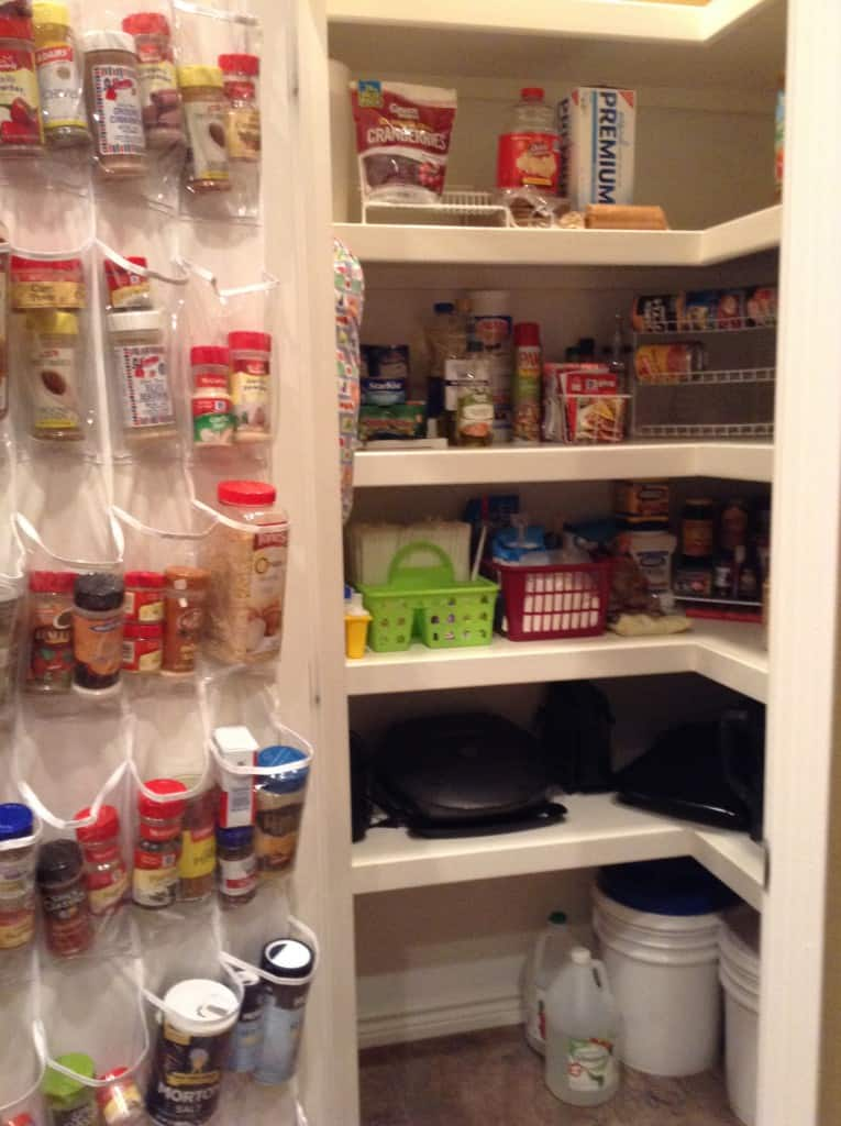 pantry organization after