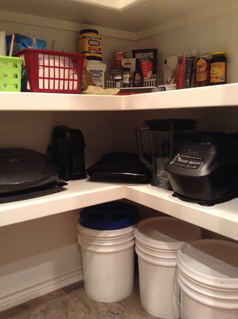 pantry organization large appliances