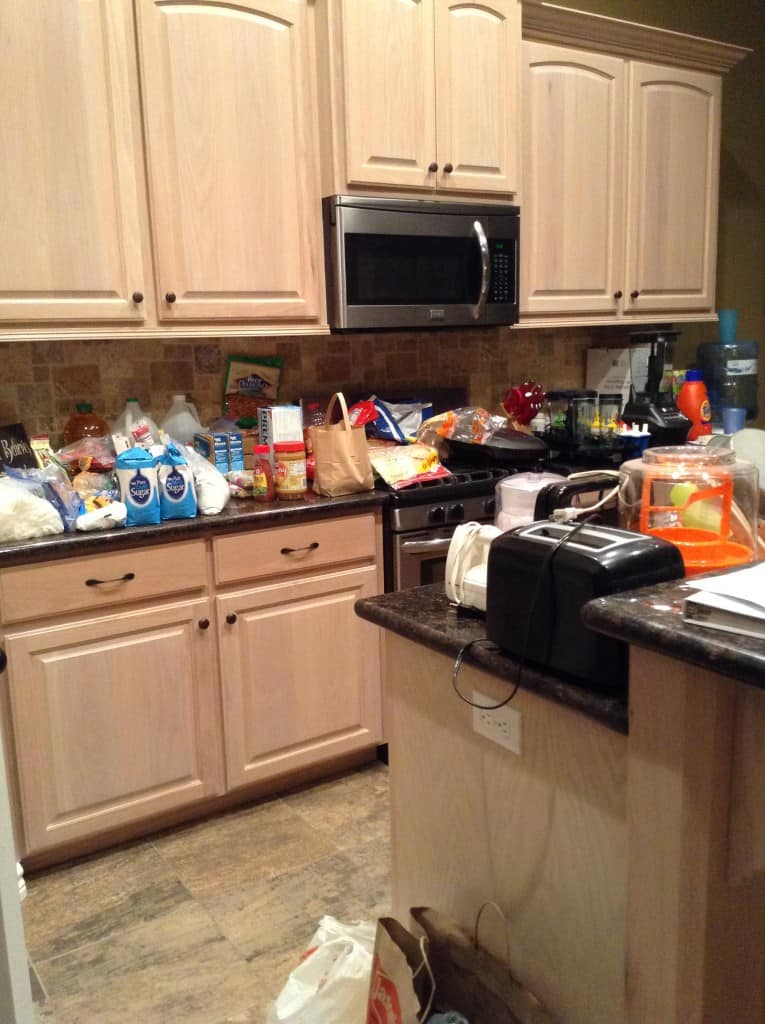pantry organization mess