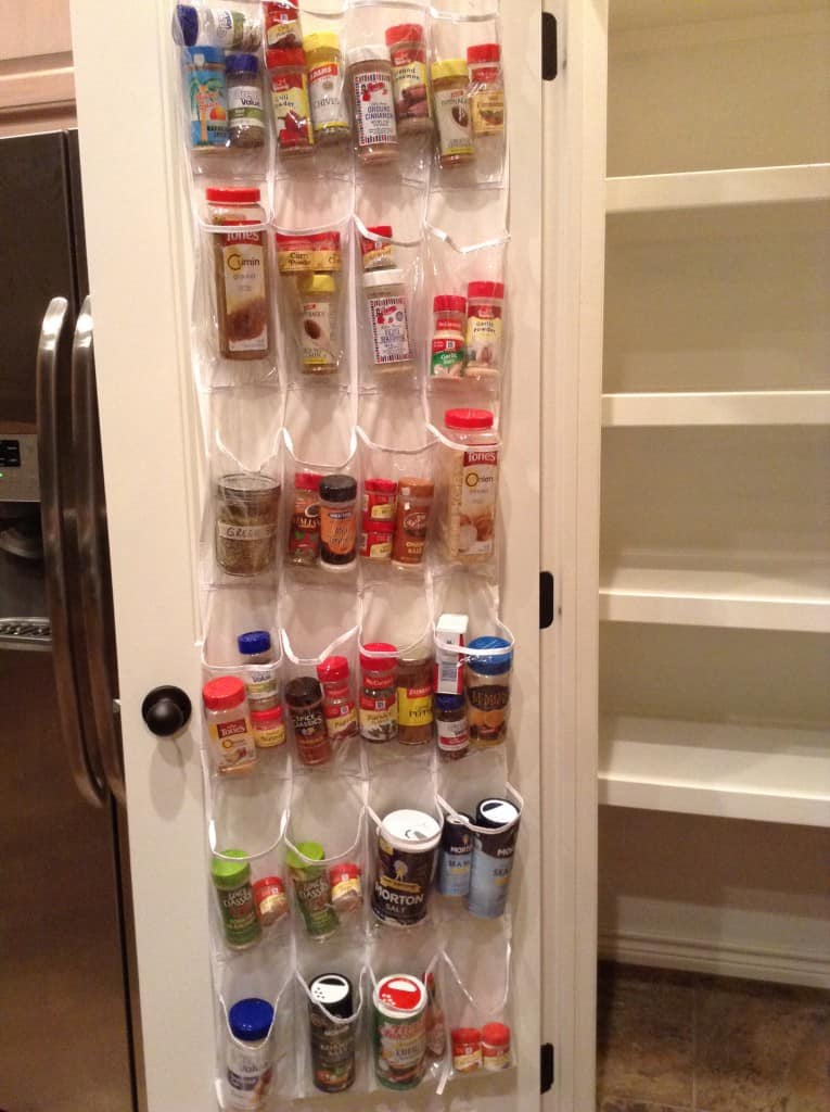 pantry organization spices after
