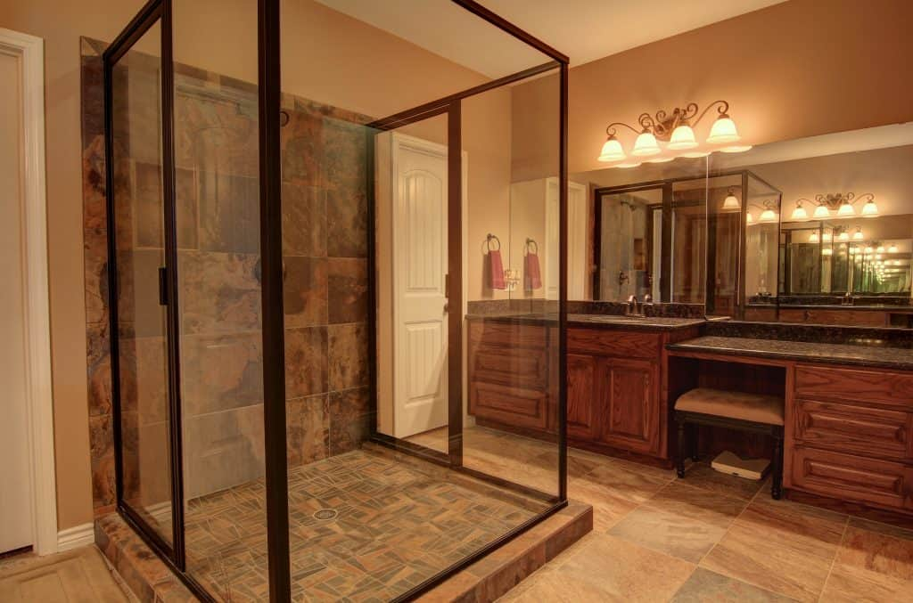 how to declutter a house Master Bathroom