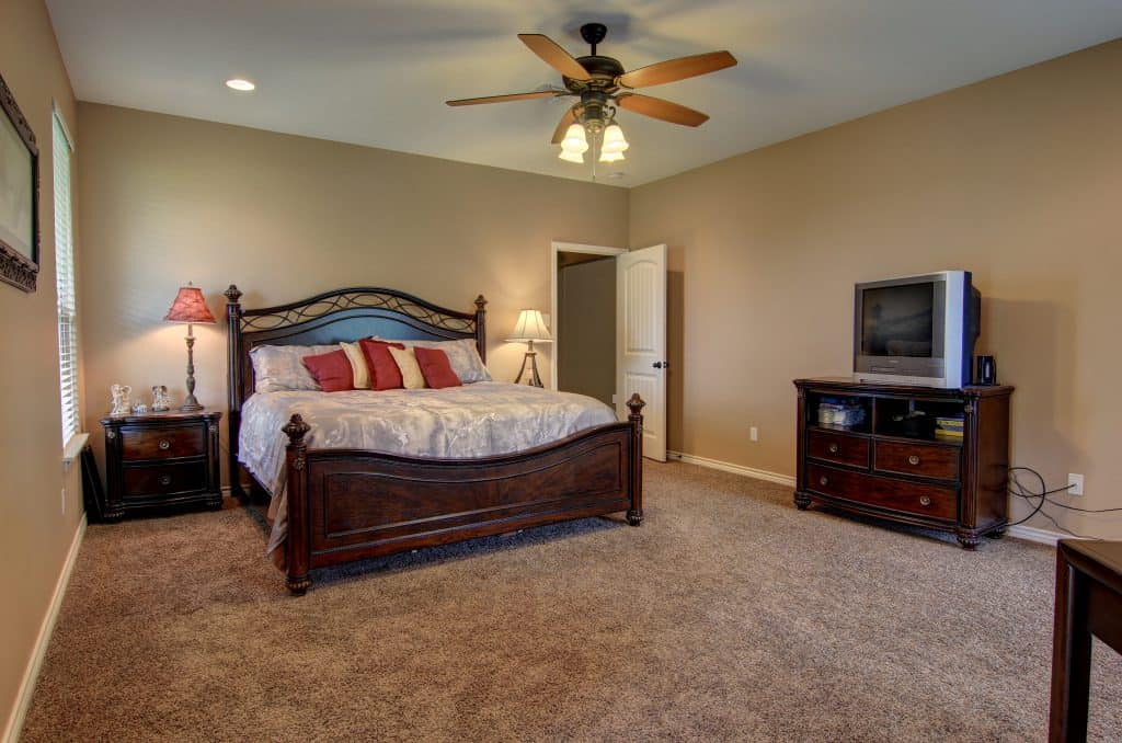 how to declutter a house Master Bedroom