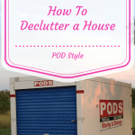 how to declutter a house pod style