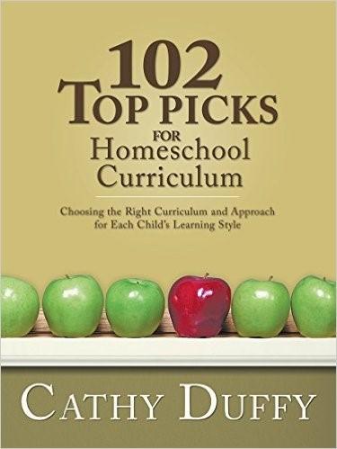 how to homeschool books cathy duffy top picks for homeschool curriculum