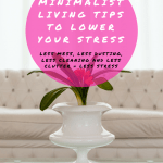 minimalist living tips