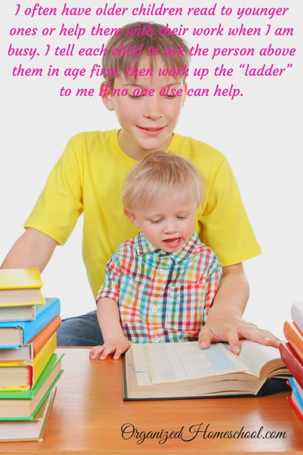 how to homeschool multiple ages Encourage Independent Learning and Teamwork