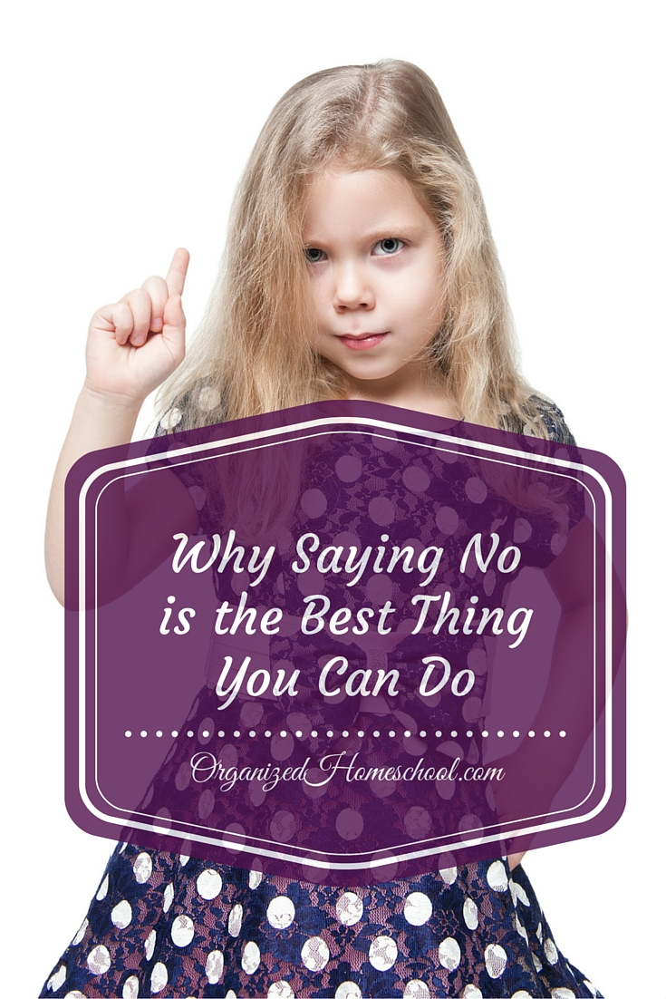 Why Saying No Is the Best Thing You Can Do