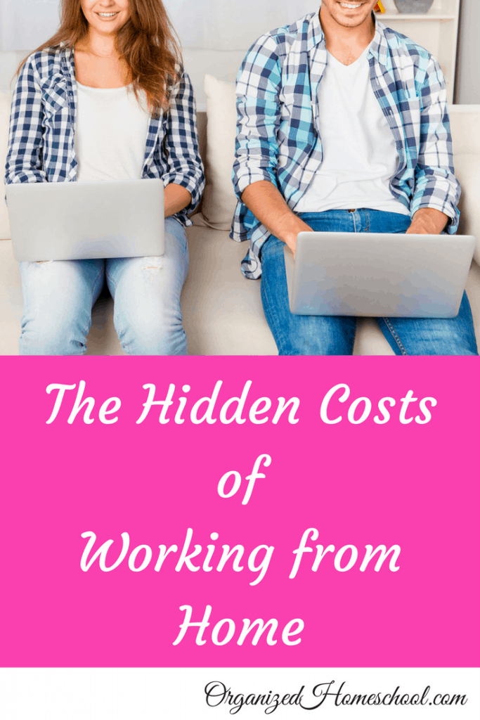 scholastic work from home the hidden costs of working from home organized home school 6101