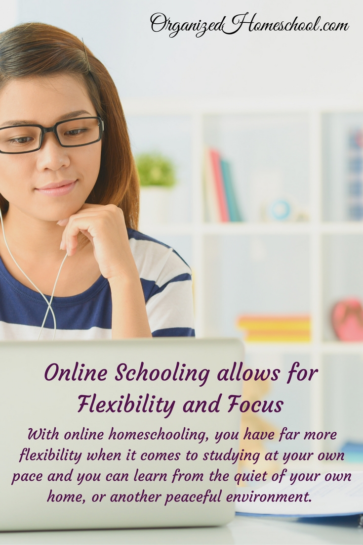 Online Schooling allows for Flexibility and Focus
