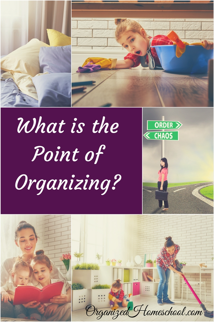 What is the Point of Organizing?