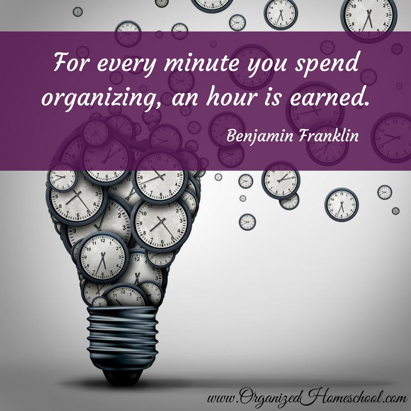minute organizing