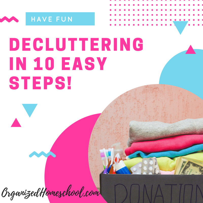 Decluttering Tips in 10 Easy Steps