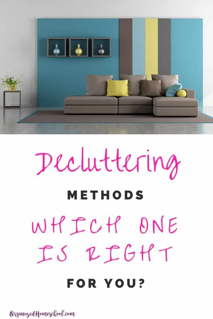 decluttering methods