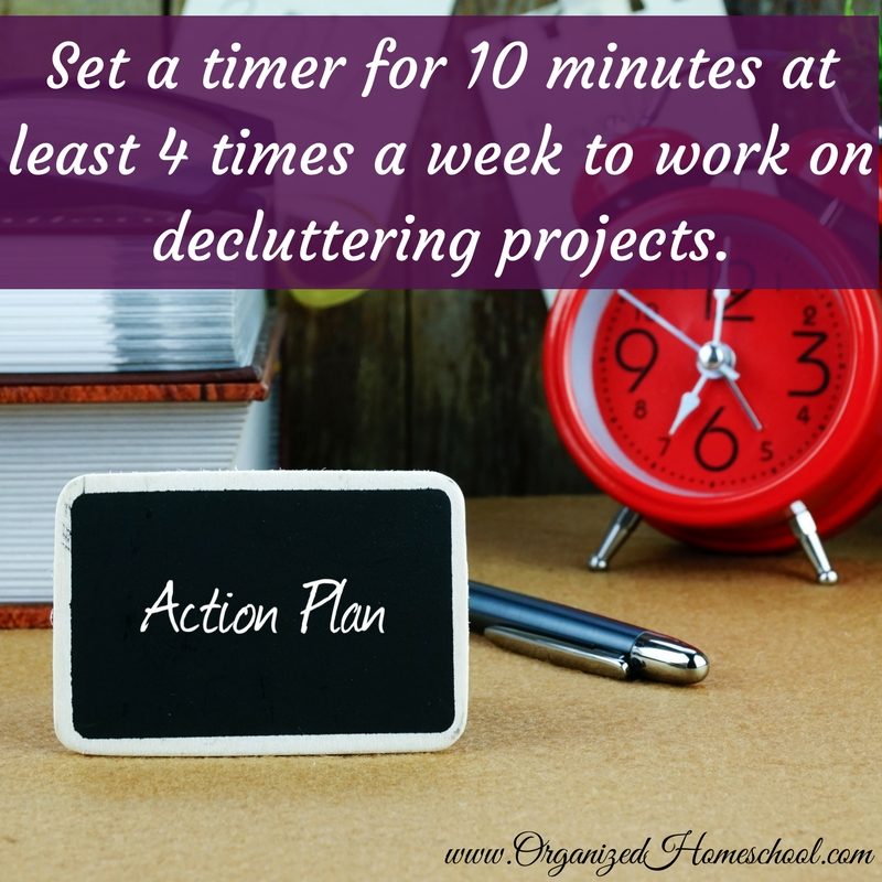Set a timer