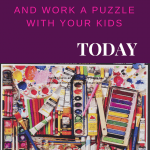 We easily recognize that puzzles benefit children. Mostly they are seen as an educational tool used to teach concepts such as the alphabet, numbers, shapes, and more. Puzzles are great for teaching these concepts because they are a self-correcting learning tool.