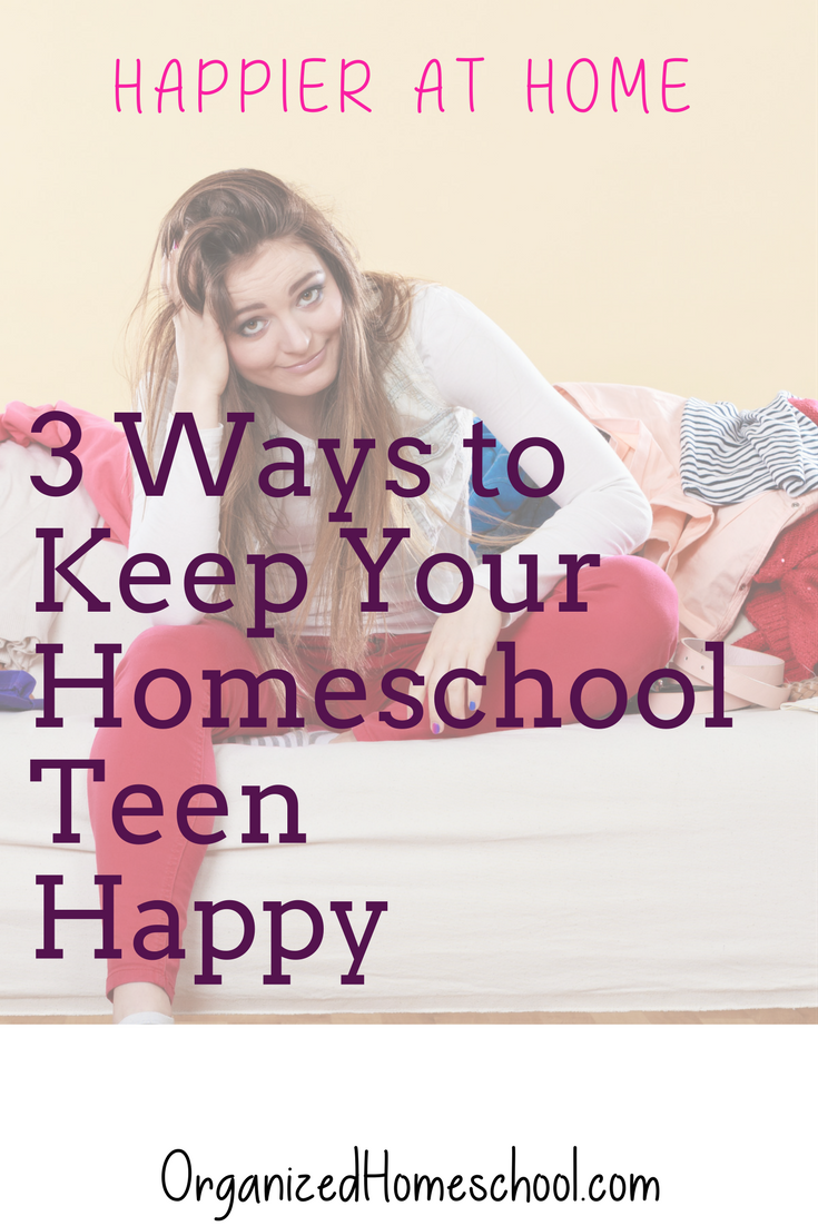 Happy Homeschool Teens