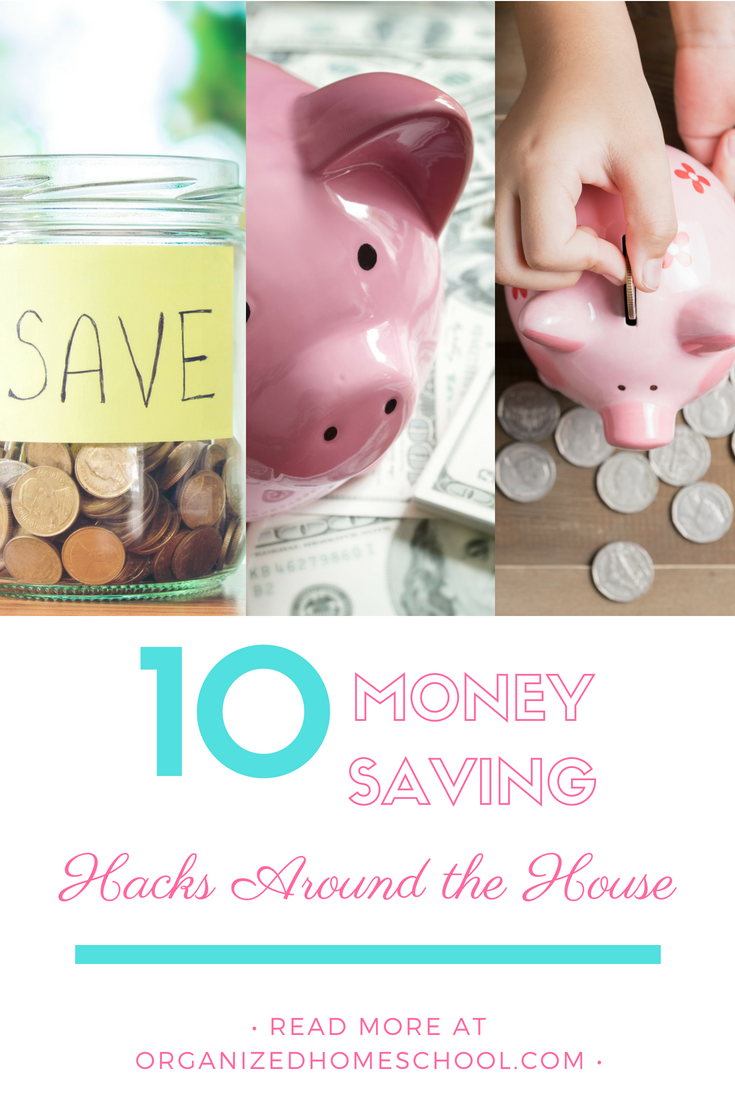 10 money saving hacks around the house